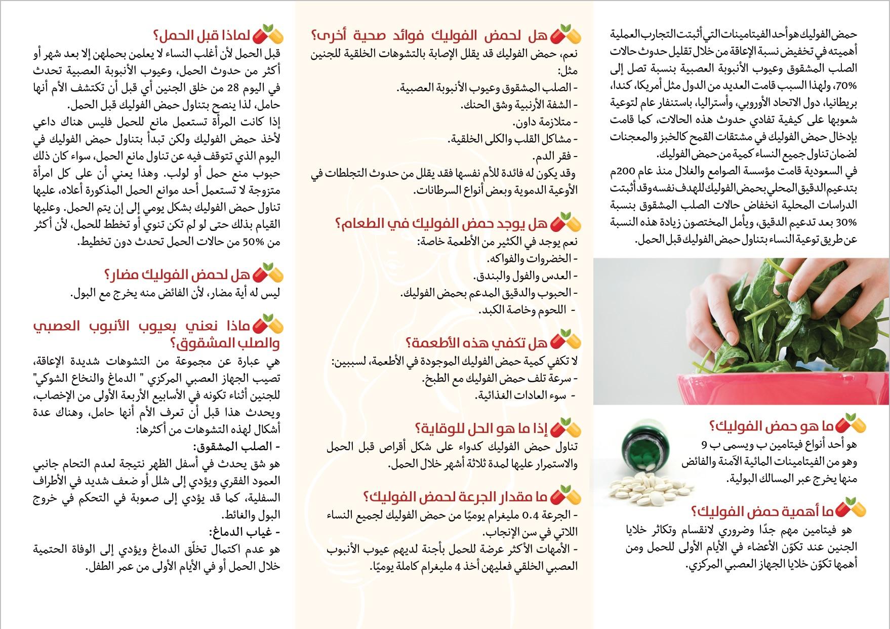 مواد حملة اليوم العالمي للوقاية من التشوهات الخلقية